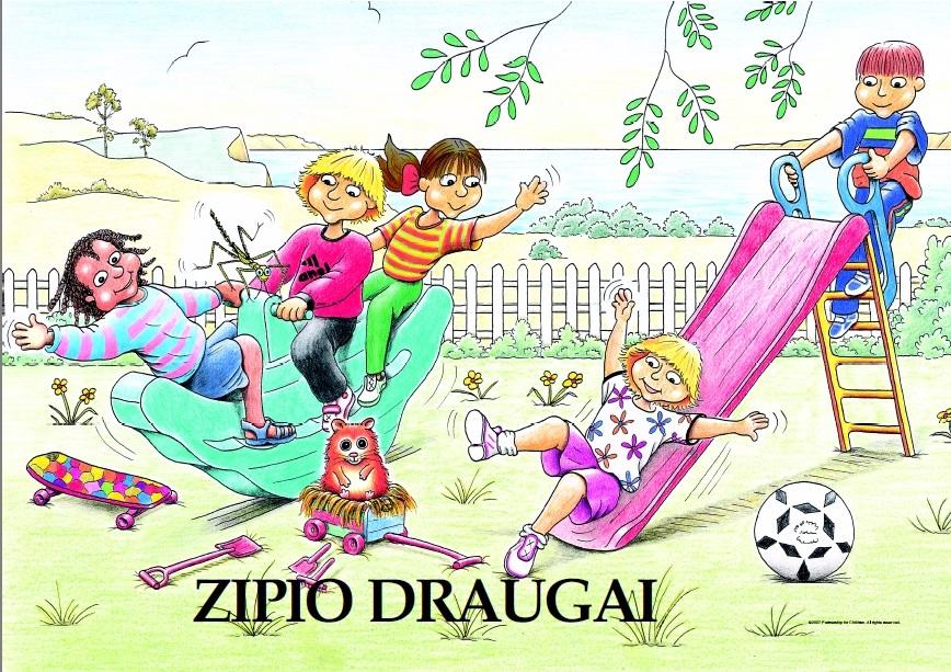 """Programa """"Zipio draugai"""" – Vilniaus lopšelis-darželis """"Skroblinukas"""""""